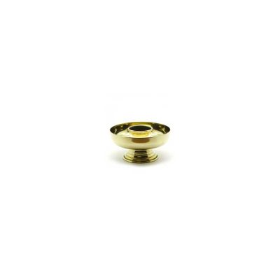 Brass Bowl Shaped Candlestick with 2 inch Socket